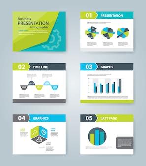 Coleção modelo de apresentação