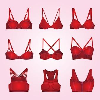 Coleção mulher lingerie bra
