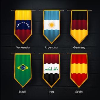 Coleção oficial de bandeiras