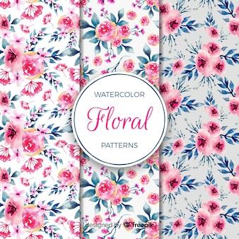 Coleção padrão de flor