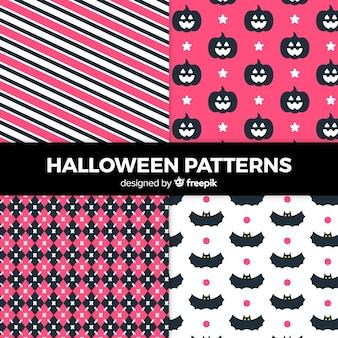 Coleção padrão de halloween