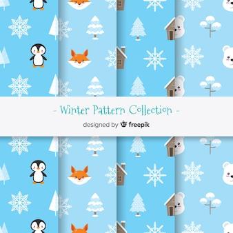 Coleção padrão de inverno