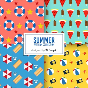 Coleção padrão de verão