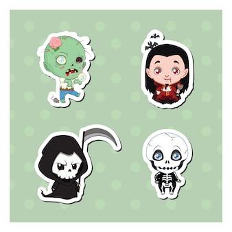 Coleção personagens halloween