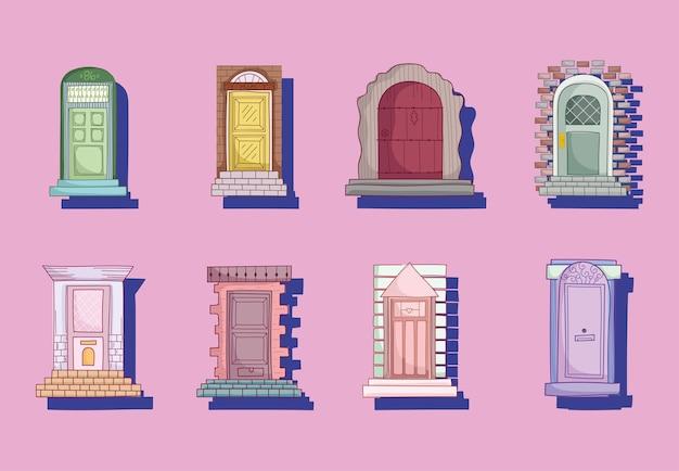 Coleção portas da frente