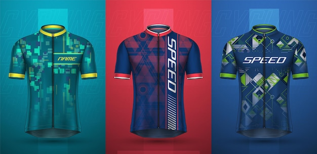 Coleção premium de camisas de ciclismo