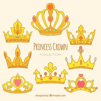 Coleção princesa coroa