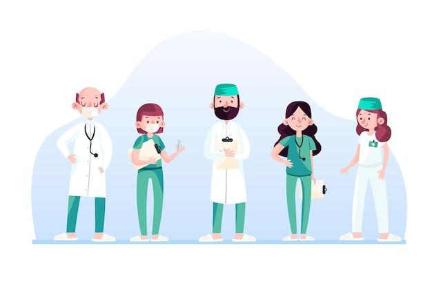 Coleção profissional de saúde