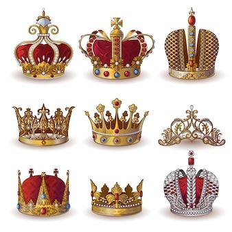 Coleção royal crowns