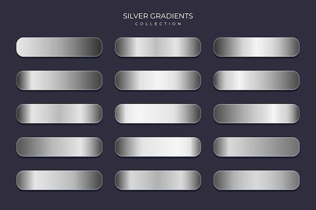 Coleção silver gradient