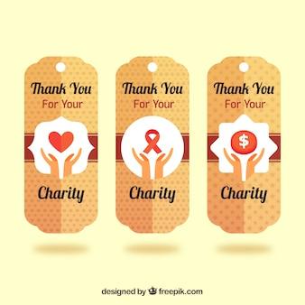 Coleção tag charity