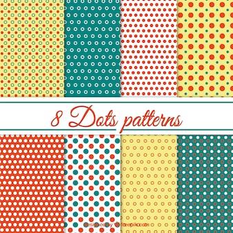 Coleção testes padrões de pontos
