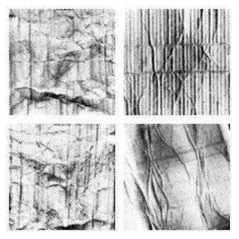 Coleção texturas da reticulação