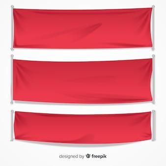 Colecção de banner têxtil