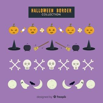 Colecção de fronteira de halloween