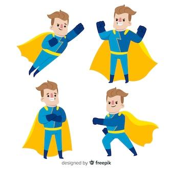Colecção super-herói masculino