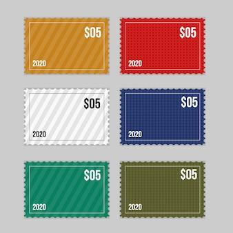 Colecções de selos postais