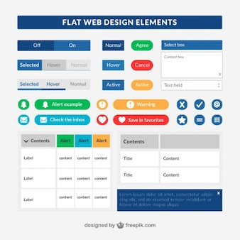 Colecction de elementos úteis da web