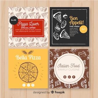 Colecionar cartão de comida