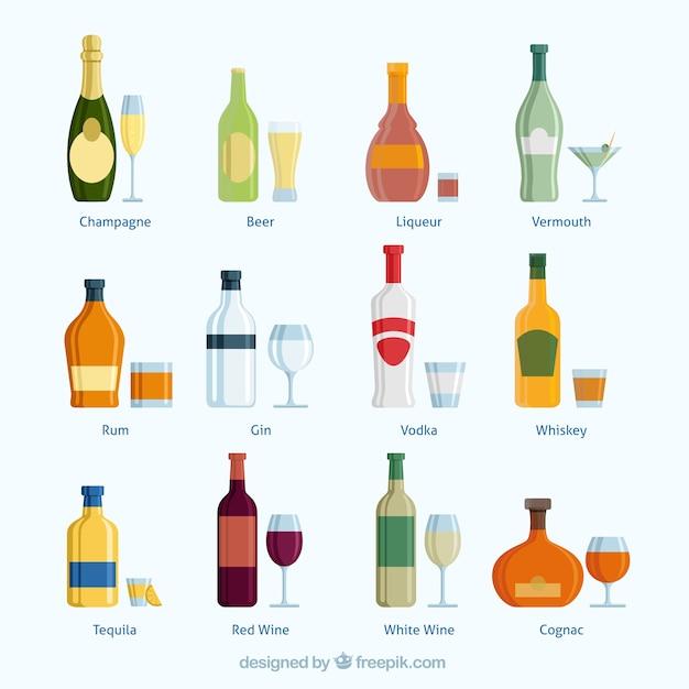 Coleta de bebidas