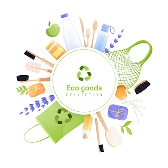 Coleta de bens ecológicos