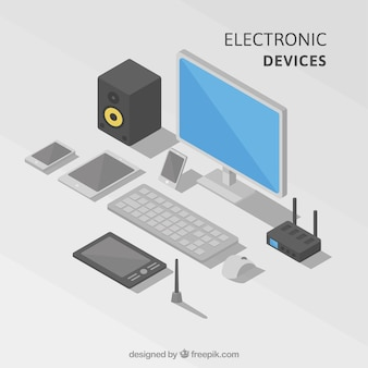 Coleta de dispositivos eletrônicos