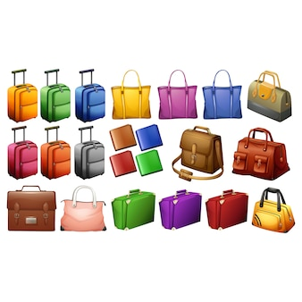 Coleta de elementos de bagagem