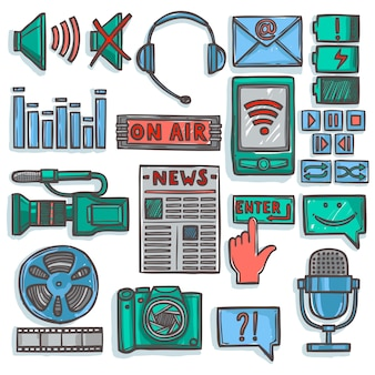 Coleta de elementos de tecnologia