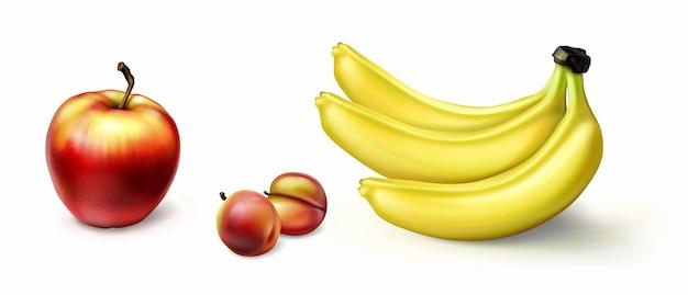 Coleta de frutas realista