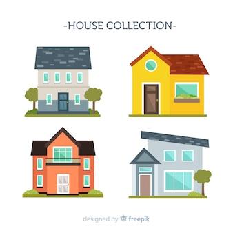 Coleta de habitação plana