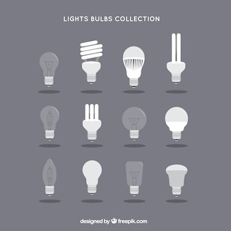 Coleta de lâmpadas