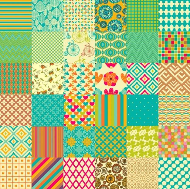Coleta de padrões coloridos