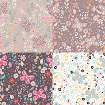 Coleta de padrões florais