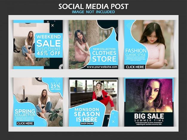 Coleta de postagem de mídia social
