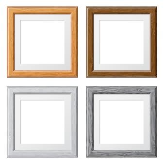 Coletar quadros de madeira