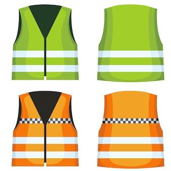Colete de colete de estrada de segurança
