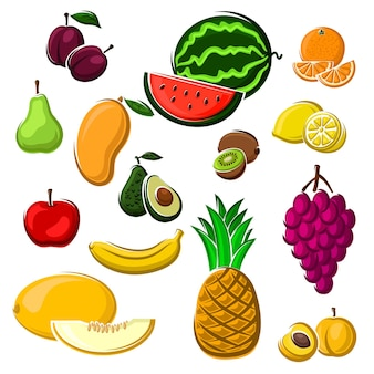 Colheita agrícola ou uso de design de receita de comida de sobremesa