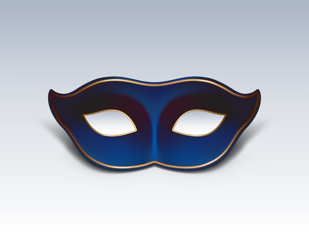 Colombina face mask ícone de vetor realista 3d