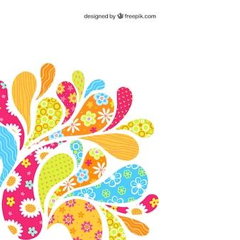 Colorful arco deixa cair o fundo