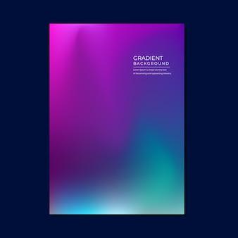Colorfull fundo desfocado gradiente