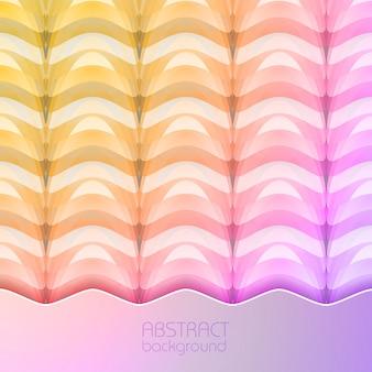 Colorido abstrato de estrutura geométrica repetitiva em ilustração de estilo mosaico