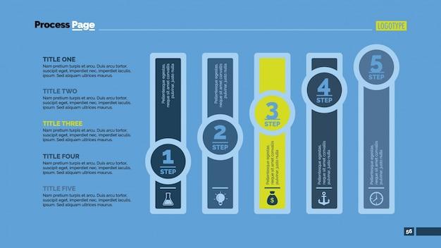 Colunas desenho infográfico