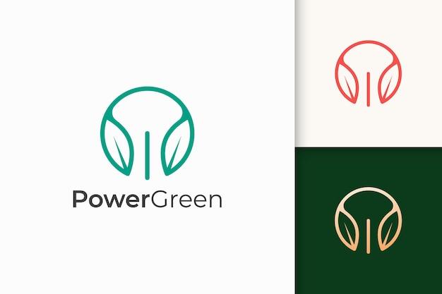 Combinação de formato de folha e poder para empresa de tecnologia
