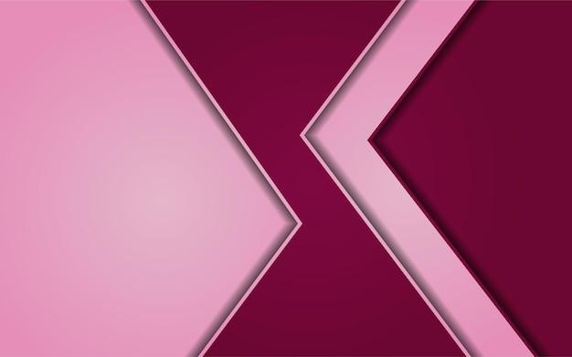 Combinação de fundo gradiente abstrato rosa com vermelho