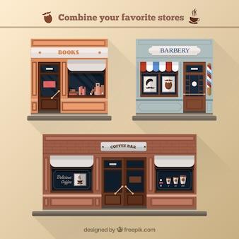 Combine suas lojas favoritas