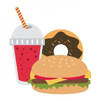 Combo de fast food