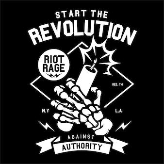Comece a revolução