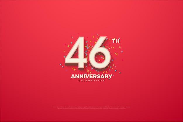 Comemoração do 46º aniversário com doodle