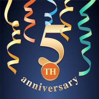 Comemoração do aniversário de 5 anos