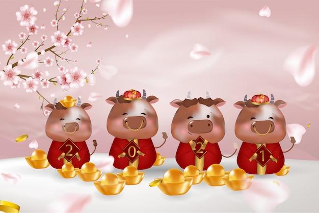 Comemoração do ano chinês do boi